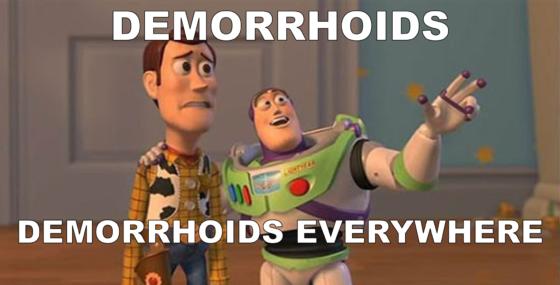 Demorrhoids Everywhere
