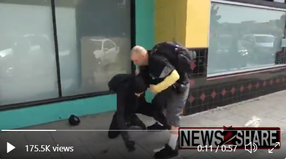 Antifa thug gets beat on in El Cajon CA