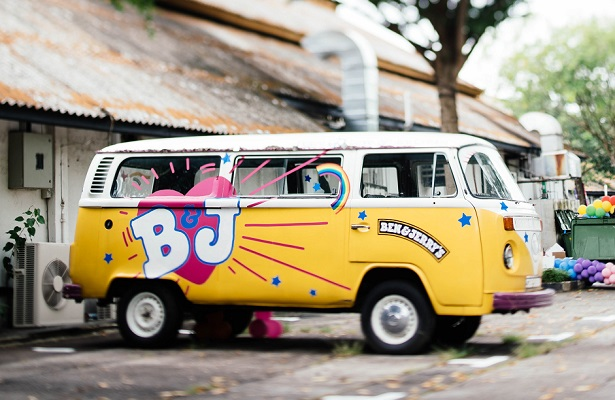 Ben and Jerry VW van Photo by CHUTTERSNAP on Unsplash