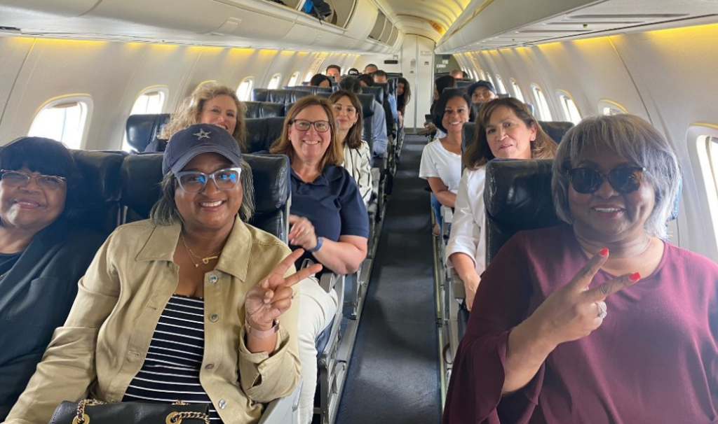 Fleeing texas dems in green house emitting private plane