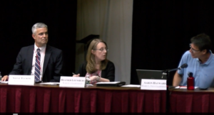 Laconia School Board motioning to go into non-meeting