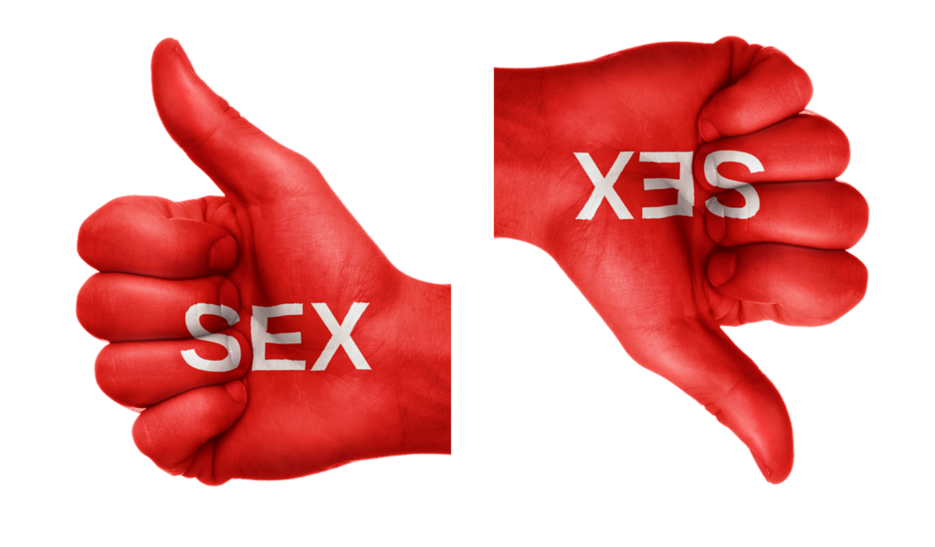 Sex ed sex thumbs up down