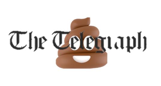 The Telegraph poop emoji