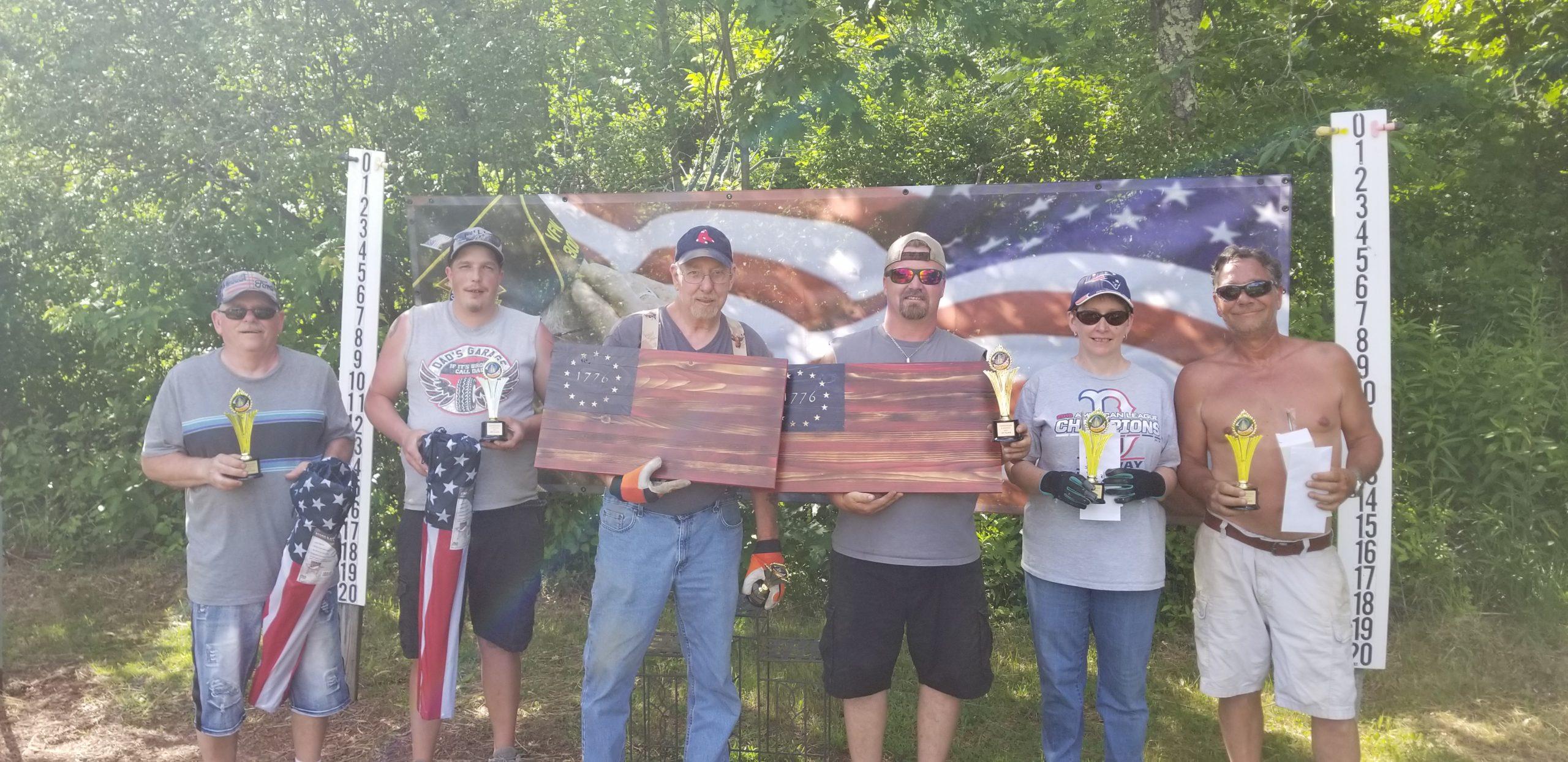 RRRC Veterans event trophys