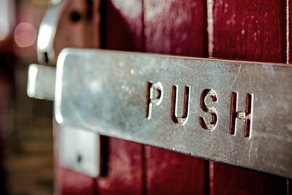 door push bar