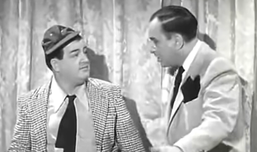 Abbott and Costello Screen Grab Who's on first video