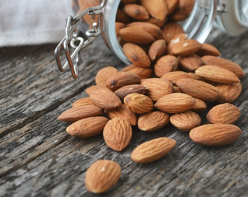 Almonds jar