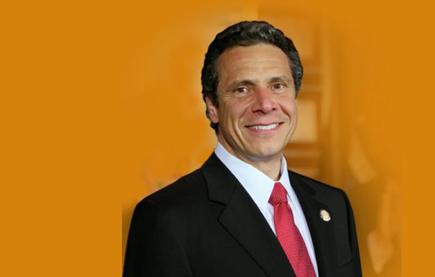 Andrew Cuomo- screen grab NY gov web page