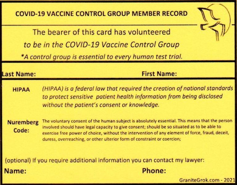 COVID Control Group Passport V30