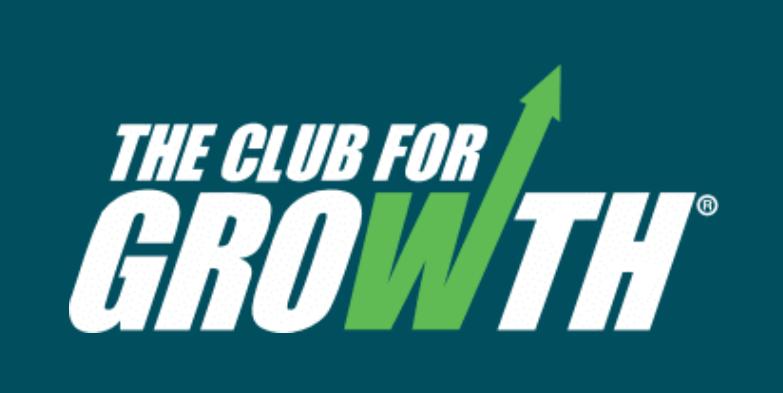 Club for Growth Logo - Screen Grab