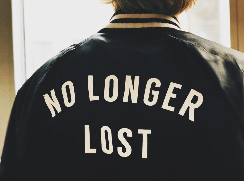 Jacket No longer lost religious