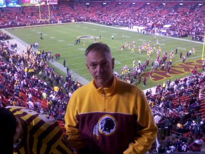 Mike Moffet At Redskins game
