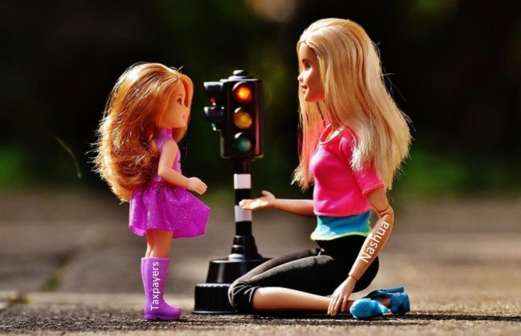 Traffic Light Mom explains to child