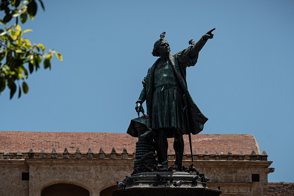 Statue Christopher Columbus Photo by Kevin Olson on Unsplash