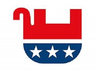 Upsidedown GOP logo