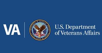 VA logo Homepage screengrab