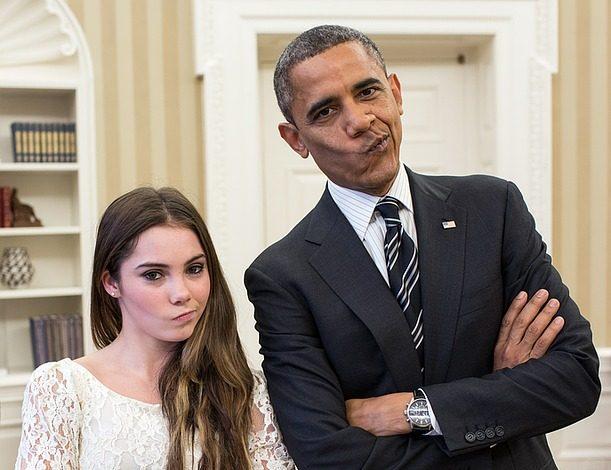 barack-obama-mimics-mckayla-maroney Image by janeb13 from Pixabay