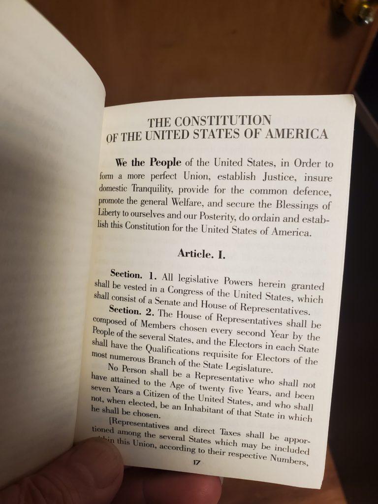 constitution book