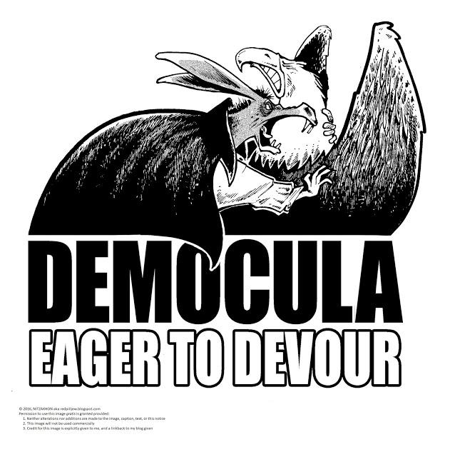 democula Eager to devour