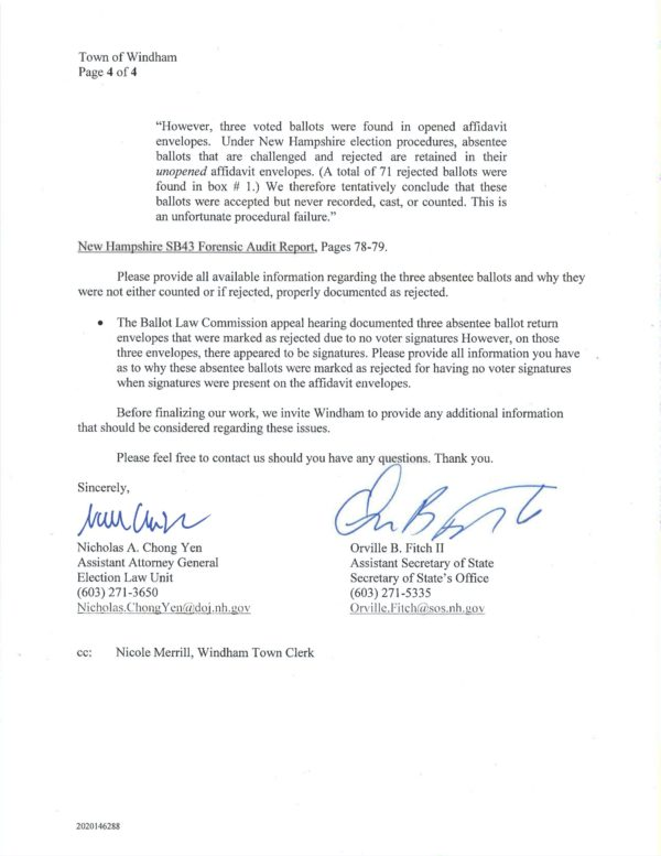 09.01.2021 Pg 4 Letter to Town of Windham Follow-up Questions - from State