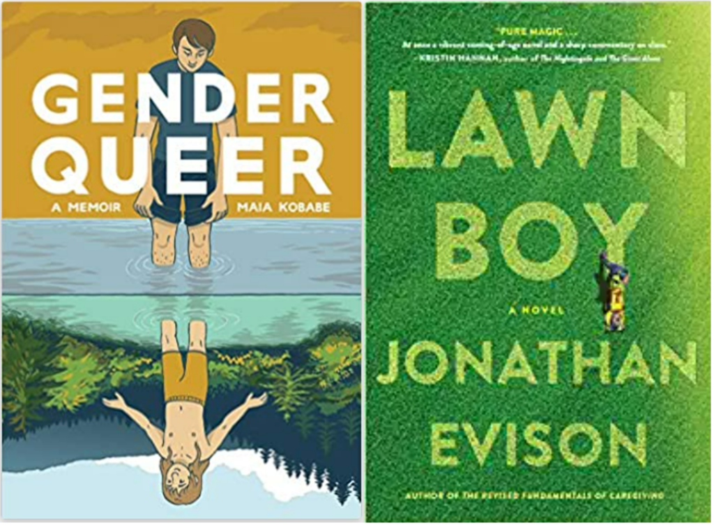 Book covers Lawn Boy Gender Queer