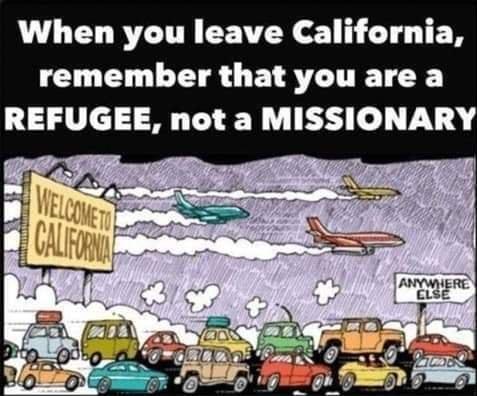 California missionary versus refugee