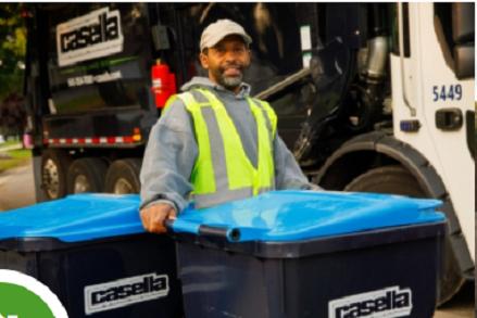Casalla Trash pickup bins