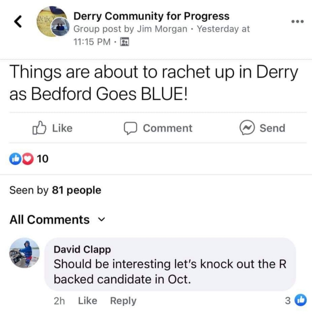 David Clapp the R Backed Candidate