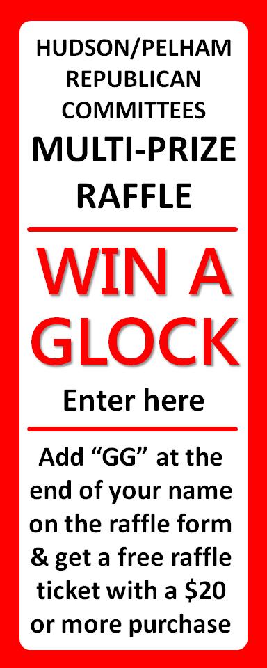Hudson Republican Glock GG raffle Ad2