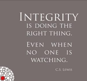 Integrity Flickr