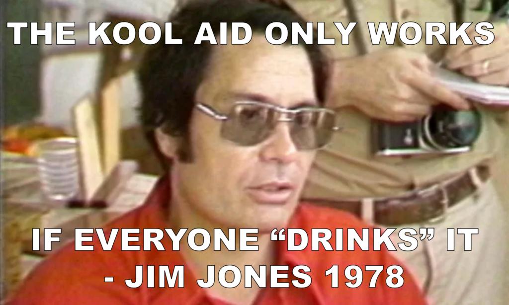 Jim Jones Fake Quote Kool Aid Meme