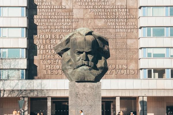 Karl Marx Bust statue