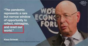 Klaus Schwab World Economic Forum The Great Reset WeForum