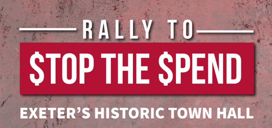 Rally to stop the spend