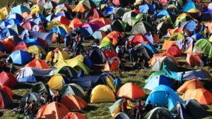 Tents tent city