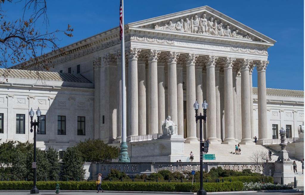 US Supreme Court Building Wash DC