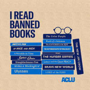 ACLU Banned Books Tote Pag