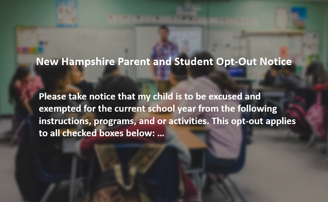 nh parent student opt out notice image