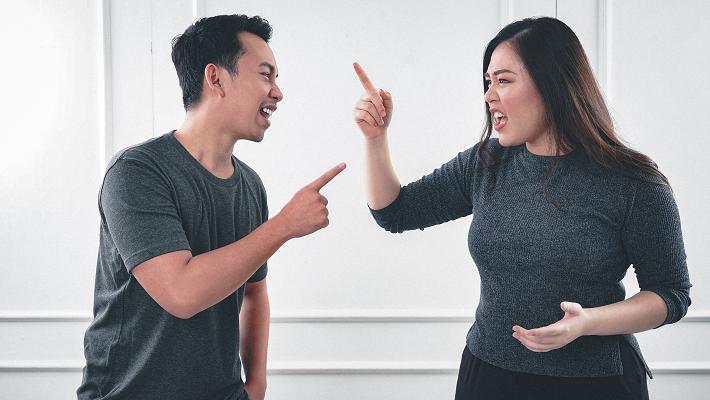 Divided arguing man woman Photo by Afif Kusuma on Unsplash