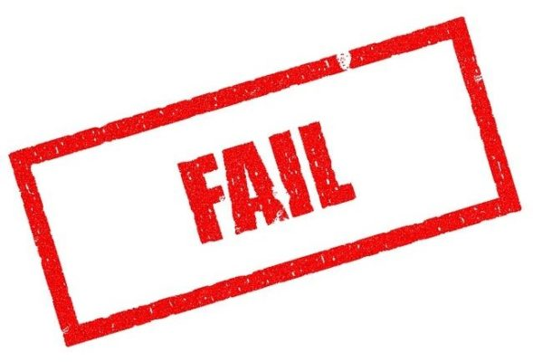 Fail Original Image by Pete Linforth from Pixabay