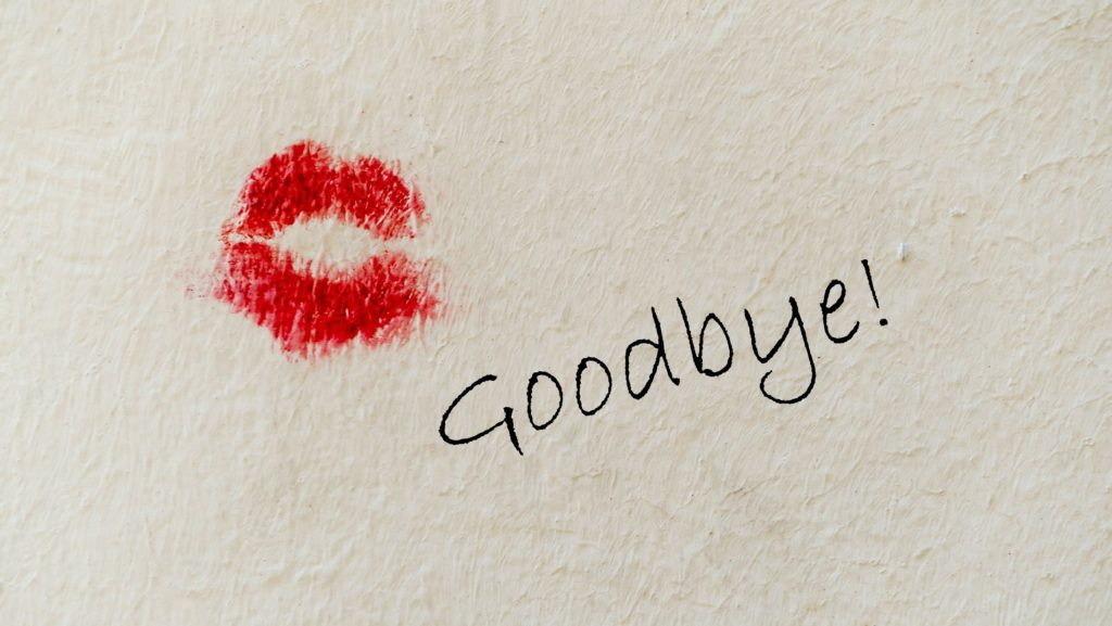 Kiss lipstick goodbye Original Photo by Etienne Girardet on Unsplash