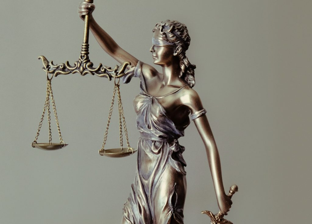Lady Justice scales of justice