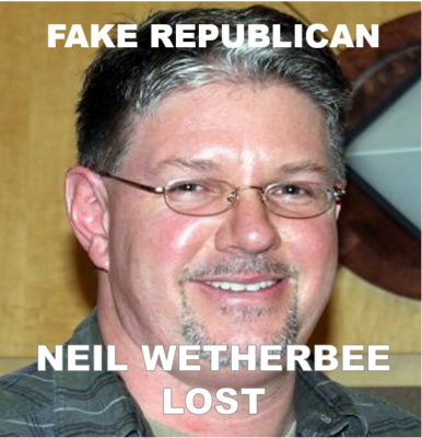 Neil Wetherbee lost
