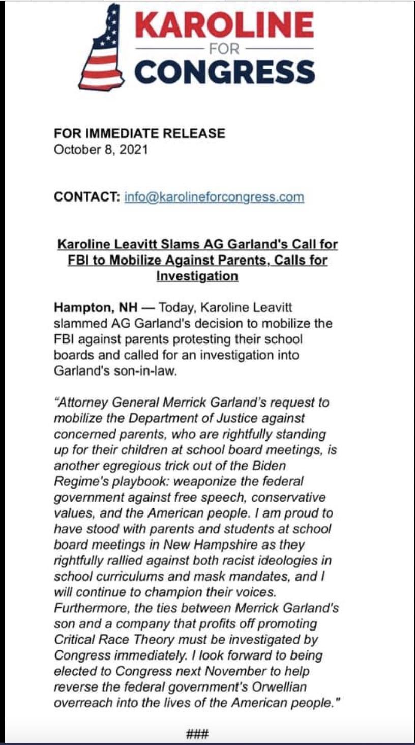 Karoline for Congress
