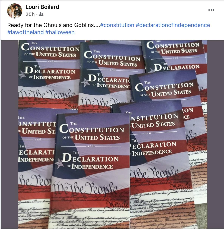 US Constitutions