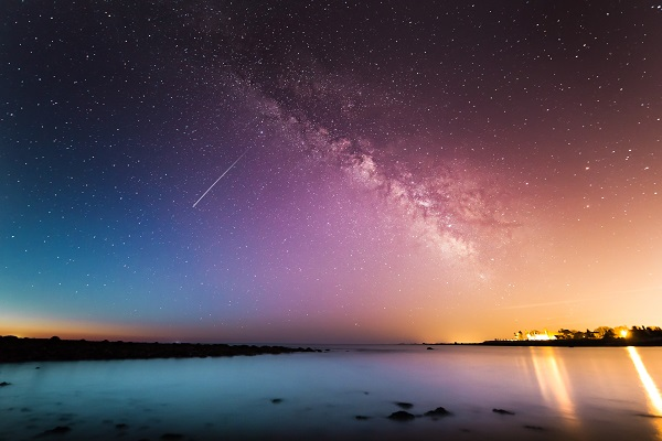Sky universe no ceiling Photo by Kristopher Roller on Unsplash
