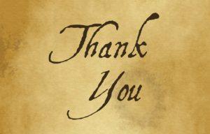 Thank you Original Image by Chrystal Elizabeth from Pixabay